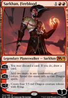 Core Set 2019: Sarkhan, Fireblood