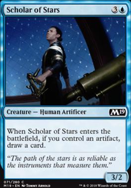 Core Set 2019: Scholar of Stars