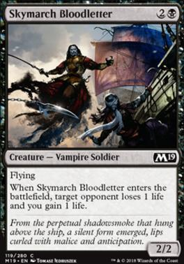 Core Set 2019: Skymarch Bloodletter