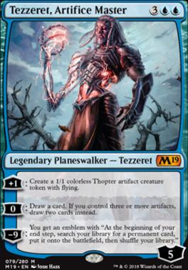Core Set 2019: Tezzeret, Artifice Master