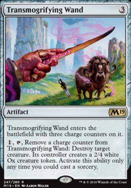 Core Set 2019: Transmogrifying Wand