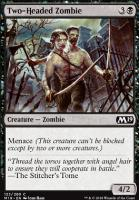 Core Set 2019: Two-Headed Zombie