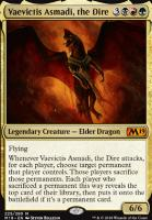 Core Set 2019: Vaevictis Asmadi, the Dire