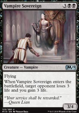 Core Set 2019: Vampire Sovereign