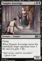 Core Set 2019 Foil: Vampire Sovereign