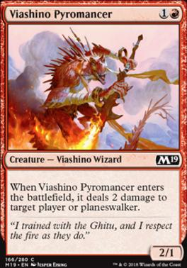 Core Set 2019: Viashino Pyromancer
