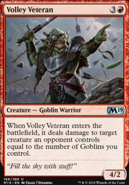 Core Set 2019: Volley Veteran