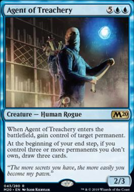 Core Set 2020: Agent of Treachery