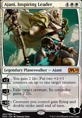 Core Set 2020: Ajani, Inspiring Leader (Planeswalker Deck Foil)