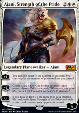 Core Set 2020: Ajani, Strength of the Pride