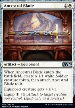 Core Set 2020 Foil: Ancestral Blade