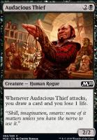 Core Set 2020 Foil: Audacious Thief