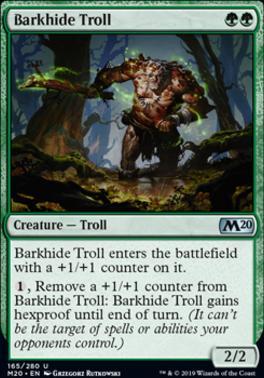 Core Set 2020: Barkhide Troll