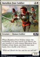 Core Set 2020 Foil: Battalion Foot Soldier