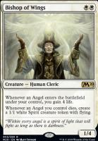 Core Set 2020 Foil: Bishop of Wings
