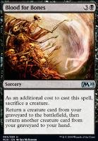 Core Set 2020 Foil: Blood for Bones