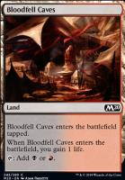 Core Set 2020 Foil: Bloodfell Caves