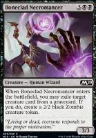 Core Set 2020 Foil: Boneclad Necromancer