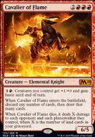 Core Set 2020 Foil: Cavalier of Flame