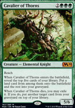 Core Set 2020: Cavalier of Thorns
