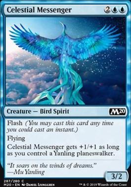 Core Set 2020: Celestial Messenger (Planeswalker Deck)