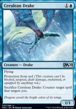 Core Set 2020 Foil: Cerulean Drake