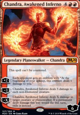 Core Set 2020 Foil: Chandra, Awakened Inferno