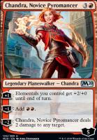 Core Set 2020 Foil: Chandra, Novice Pyromancer