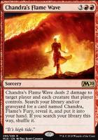 Core Set 2020: Chandra's Flame Wave (Planeswalker Deck)