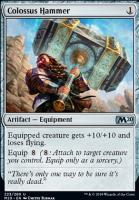 Core Set 2020 Foil: Colossus Hammer