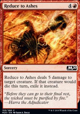 Core Set 2020: Reduce to Ashes