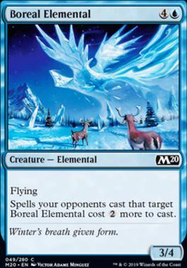 Core Set 2020 Foil: Boreal Elemental