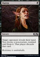 Core Set 2020 Foil: Duress