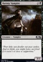 Core Set 2020 Foil: Barony Vampire
