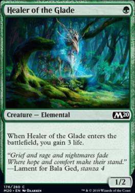 Core Set 2020 Foil: Healer of the Glade
