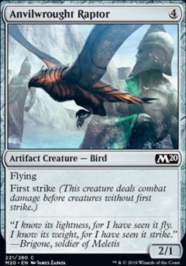 Core Set 2020 Foil: Anvilwrought Raptor