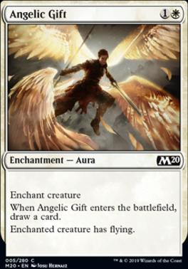 Core Set 2020 Foil: Angelic Gift
