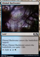 Core Set 2020 Foil: Dismal Backwater