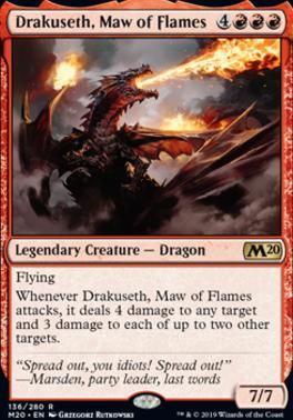 Core Set 2020: Drakuseth, Maw of Flames