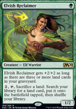 Core Set 2020: Elvish Reclaimer