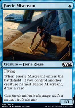 Core Set 2020: Faerie Miscreant