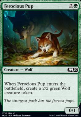Core Set 2020: Ferocious Pup