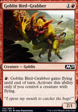 Core Set 2020: Goblin Bird-Grabber
