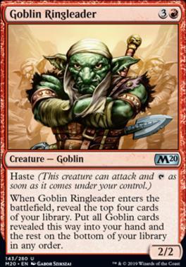 Core Set 2020 Foil: Goblin Ringleader
