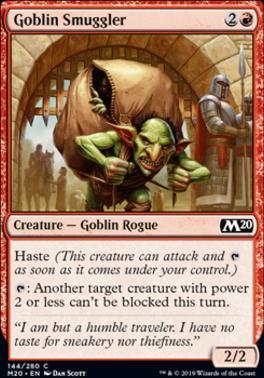 Core Set 2020: Goblin Smuggler