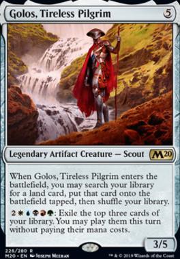 Core Set 2020: Golos, Tireless Pilgrim