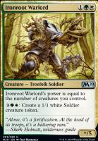 Core Set 2020 Foil: Ironroot Warlord