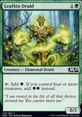 Core Set 2020 Foil: Leafkin Druid