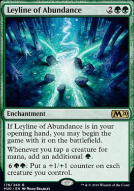 Core Set 2020 Foil: Leyline of Abundance