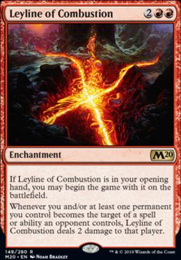 Core Set 2020: Leyline of Combustion